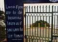 Live as If You Are to Die Tomorrow - Gandhi Quote on Facade - Darjeeling - West Bengal - India (12407016314).jpg