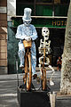 Live street statue in the streets of Barcelona. Catalonia, Spain.jpg
