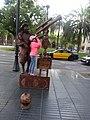 Living statue barcelona 2.jpg