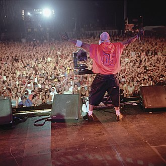 LL Cool J - LL Cool J performing in Germany.