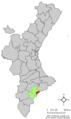 Localització del Campello respecte el País Valencià.png