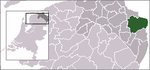 Location of Oldambt