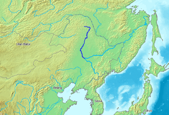 Nen River - Location of the Nen River