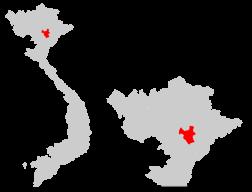 Провинциальное место во Вьетнаме