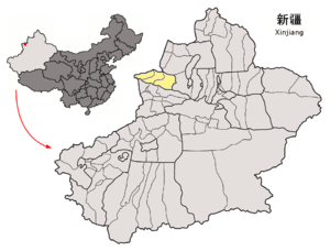 Location of Börtala Prefecture within Xinjiang (China) .png