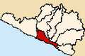 Location of Camaná province.PNG