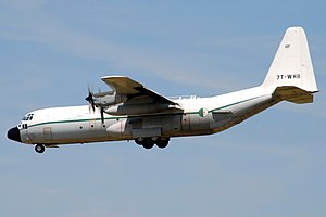 2014 Algerian Air Force C-130 crash - An Algerian Air Force C-130, similar to the aircraft involved in the crash