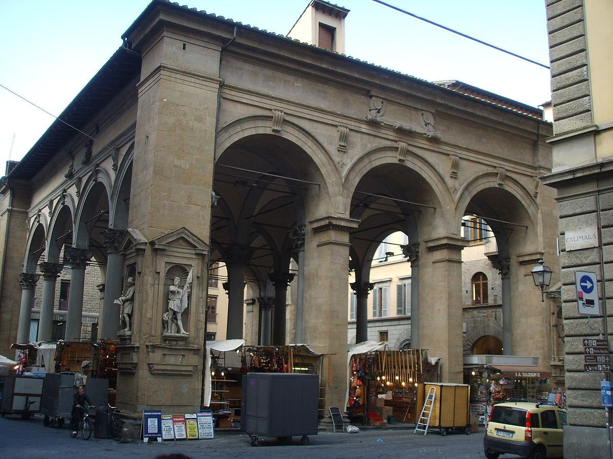 Loggia del mercato nuovo wikipedia - Mercato coperto porta palazzo orari ...