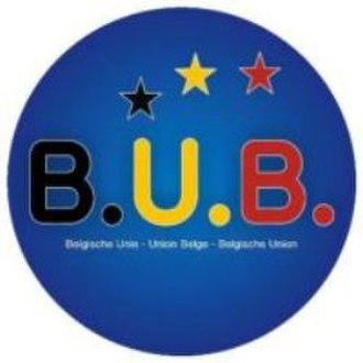 Belgische Unie – Union Belge - Image: Logo B.U.B