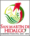 Official seal of San Martín de Hidalgo