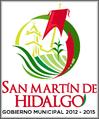 Logo de San Martín de Hidalgo 2012-2015.PNG