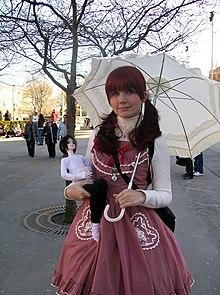 Lolita Fashion Style Japanese Style Indonesia