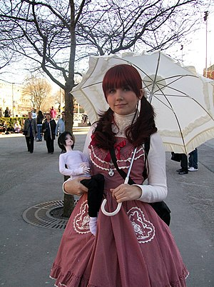 IC in a Sunflower - Image: Lolita fashion ball jointed doll