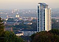 London, view from Shooters Hill, Woolwich & City Airport01.jpg