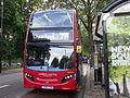London United ADH44 on Route 27, Turnham Green Church (14266355473).jpg