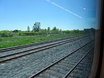 Looking out the left window on a trip from Union to Pearson, 2015 06 06 A (423) (18021400043).jpg