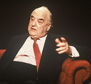 George Weidenfeld, Baron Weidenfeld - Appearing on tv programme After Dark in 1991