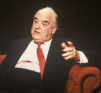 George Weidenfeld, Baron Weidenfeld - Appearing on tv programme After Dark in 1991