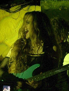 Lori Linstruth American guitarist, lyricist and manager