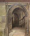Lothar von Seebach-L'entrée du Musée Notre-Dame.jpg
