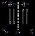 Lotka-Volterra equations isocline method 1.png