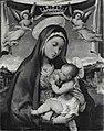 Lotto - Madonna con Bambino incoronata da angeli, inv. Cl. I n. 0513.jpg