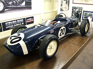 Rob Walker Racing Team - The Lotus 18 with which Stirling Moss took victory in the 1961 Monaco Grand Prix.
