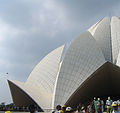 Lotus Temple - Delhi, various views (5).JPG