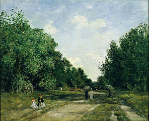 Louis-Eugène Boudin - Parc Cordier in Trouville - Google Art Project.jpg