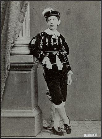 Louis Couperus - Couperus as a child
