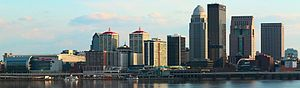 Downtown Louisville - The Louisville skyline