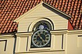 Lovely clock and moonstadia instrument at the gable of this Bornhof house - panoramio.jpg