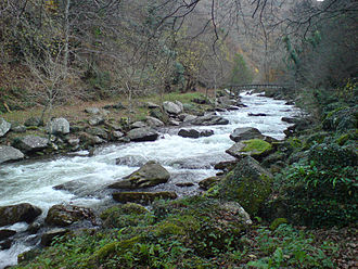 Exmoor - The East Lyn River