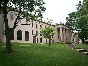 Kent, Ohio - Lowry Hall, one of the original campus buildings of Kent State University