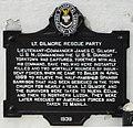 Lt.GilmoreRescueParty HistoricalMarker Baler.jpg