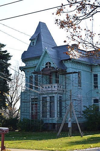 Perry, Ohio - The Lucius Green House, built 1880