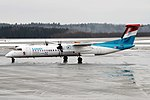 Luxair, LX-LGF, Bombardier Dash 8 Q400 (26769467418).jpg