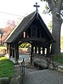 Lych Gate, St Peter's Church, Myddle - geograph.org.uk - 594743.jpg