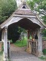 Lych gate, Salwarpe - geograph.org.uk - 876714.jpg