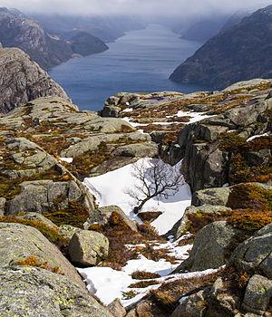 Lysefjord - Image: Lysefjord