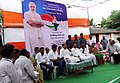 M. Venkaiah Naidu addressing the inmates of Leprosy colony, at Kesarpally, in Gannavarm mandal, Krishna District of Andhra Pradesh.jpg