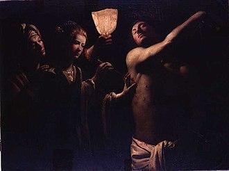 Saint Sebastian Tended by Saint Irene - Trophime Bigot, 1620–1634, Musée des Beaux-Arts de Bordeaux, Bordeaux