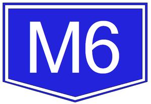 M8 motorway (Hungary) - Image: M6 autopalya