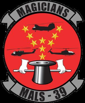 Marine Aviation Logistics Squadron 39 - Old MALS-39 insignia.