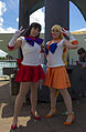 MCM London 2014 - Sailor Mars & Sailor Venus (14246935916).jpg