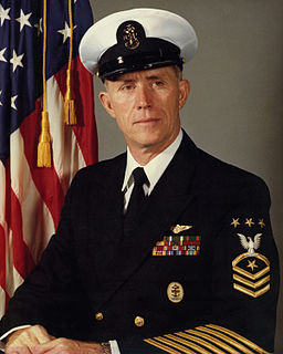 Billy C. Sanders Master Chief Petty Officer of the United States Navy