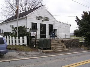 Tuscarora, Maryland - The Tuscarora post office in March 2004