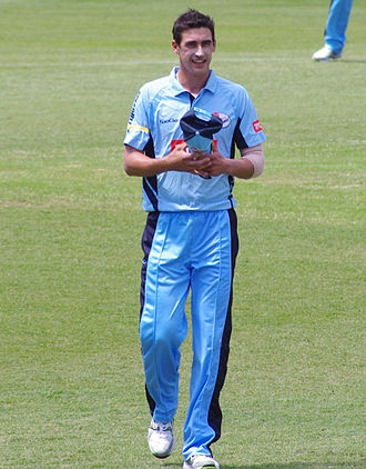 Mitchell Starc - Starc playing for New South Wales in 2011