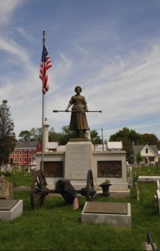 Molly Pitcher - Grave in Carlisle