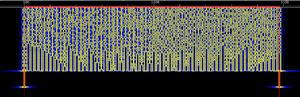 MT63 - Spectrogram of MT63-1K Modulation